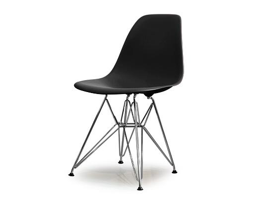Eames Side Shell Chair / イームズ・プラスティックシェルチェア・DSR(ブラック)
