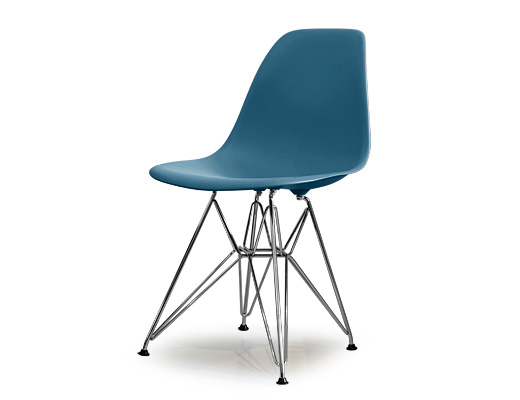 Eames Side Shell Chair / イームズ・プラスティックシェルチェア・DSR(ピーコックブルー)