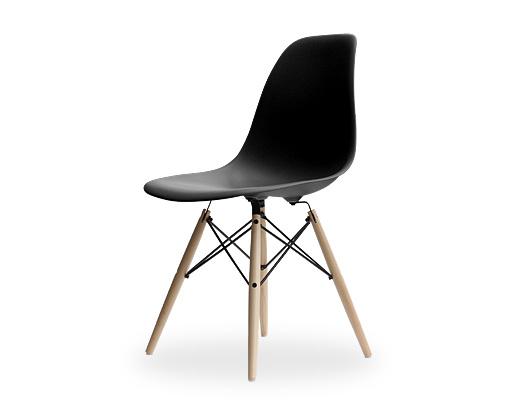 Eames Side Shell Chair / イームズ・プラスティックシェルチェア・DSW(ブラック)