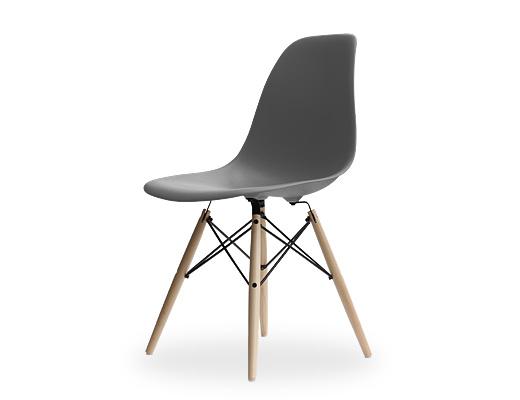 Eames Side Shell Chair / イームズ・プラスティックシェルチェア・DSW(チャコール)