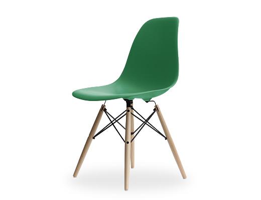Eames Side Shell Chair / イームズ・プラスティックシェルチェア・DSW(ケリーグリーン)