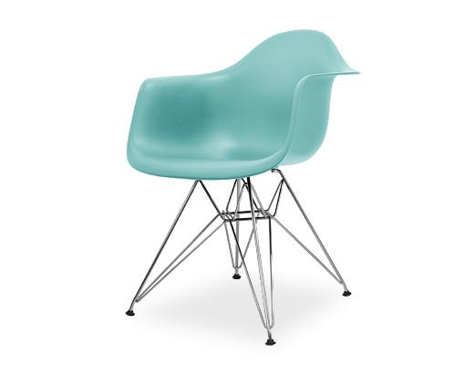 Eames Arm Shell Chair / イームズ・プラスティックシェルチェア・DAR(アクアスカイ)