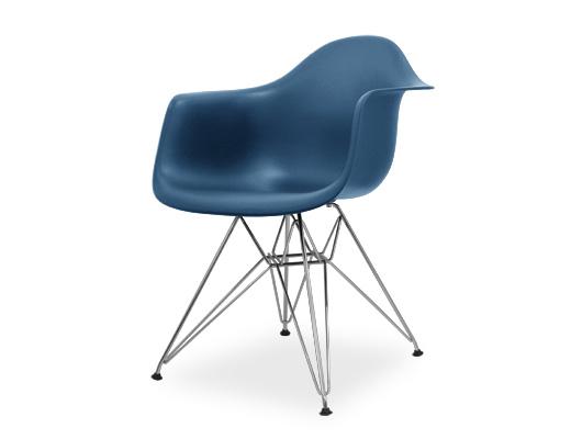 Eames Arm Shell Chair / イームズ・プラスティックシェルチェア・DAR(ピーコックブルー)