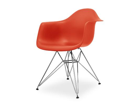 Eames Arm Shell Chair / イームズ・プラスティックシェルチェア・DAR(レッド)