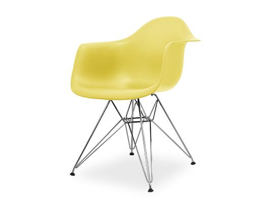Eames Arm Shell Chair / イームズ・プラスティックシェルチェア・DAR(ペイルイエロー)