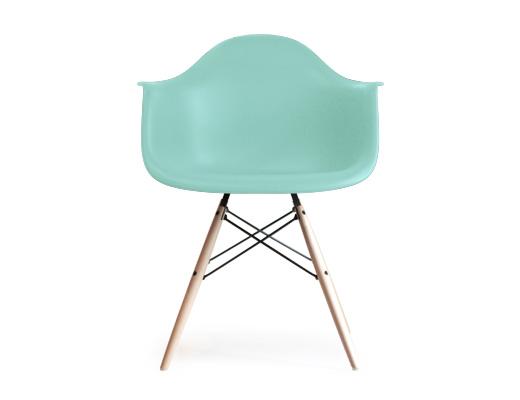 Eames Arm Shell Chair / イームズ・アームシェルチェア・DAW(アクアスカイ)
