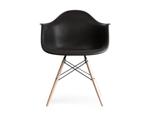 Eames Arm Shell Chair / イームズ・アームシェルチェア・DAW(ブラック)