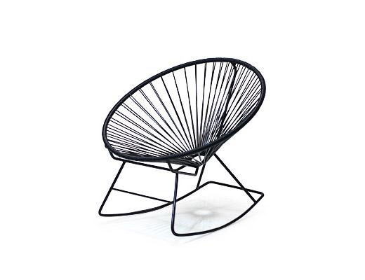Acapulco Chair / アカプルコ・ロッキングチェア(ブラック)