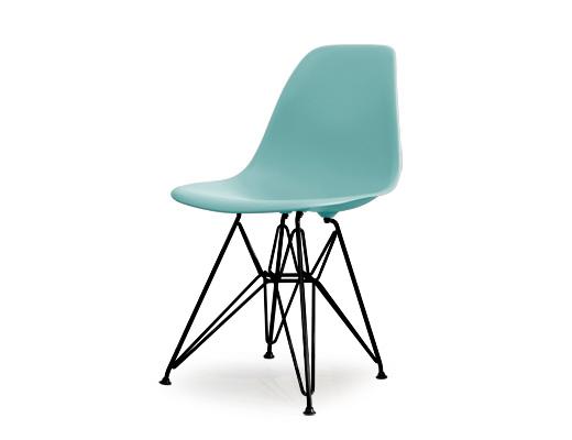 Eames Side Shell Chair / イームズ・プラスティックシェルチェア・DSR(アクアスカイ)