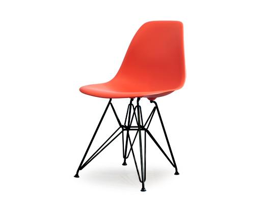 Eames Side Shell Chair / イームズ・プラスティックシェルチェア・DSR(レッド)