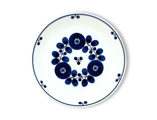 白山陶器 ブルーム プレート(ブーケ)Mサイズ