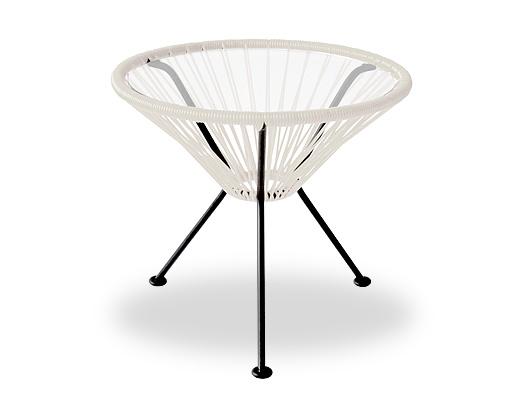 Acapulco Chair / アカプルコ・サイドテーブル(ホワイト)