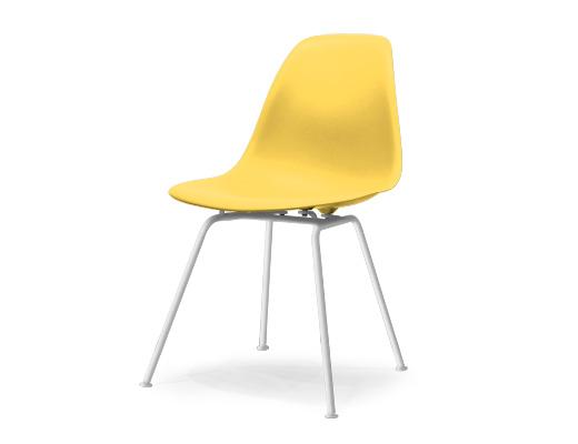 Eames Side Shell Chair / イームズ・プラスティックシェルチェア・DSX(ペイルイエロー)